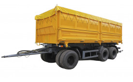 МАЗ-856102-4014-000 Причіп-зерновоз, платформа 27м3, г / п 20,5т.