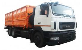 МАЗ 6501С9-8525-000 Зерновоз, платформа 32м3, г / п 19т.