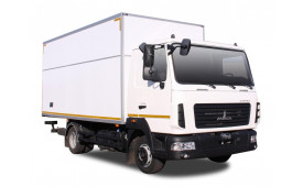 МАЗ-4371 «Корнет» - промтоварный фургон